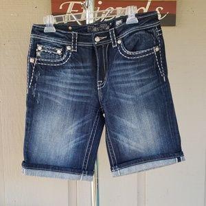 Miss Me BF Bermuda Shorts